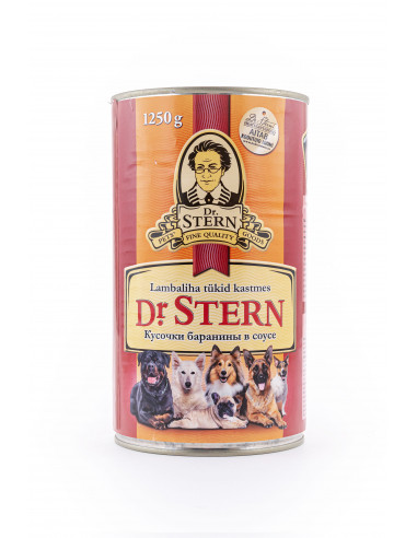 Dr.Stern konserv lambaliha tükid 1250g
