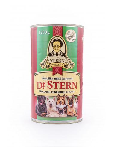 Dr.Stern konserv veiseliha tükid 1250g